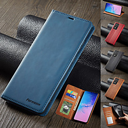 Luxury Leather Magnetic Flip Case for Xiaomi Redmi Note 9 Pro Note 9 Pro Max Xiaomi POCO X3 NFC POCOM3 Mi 10T Pro 10 Lite Note 8 Note 8 Pro Note 7 Note 7 Pro Wallet Phone Protective Case miniinthebox