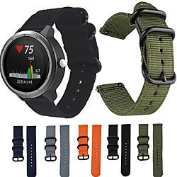 'Nylon Canvas Strap For Garmin Vivoactive 3 / Vivoactive 3 Music  Nylon Replacement Wristband Smart Bracelet For Garmin Vivoactive 3 / Vivomove Hr / Forerunner 245 / 245m Miniinthebox
