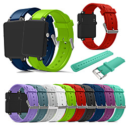 Smart Watch Band for Garmin 1 pcs Sport Band Silicone Replacement  Wrist Strap for Vivoactive Acetate miniinthebox