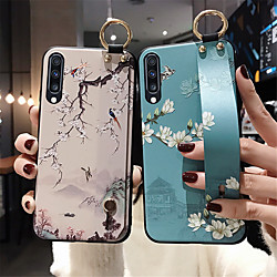 Phone Holder Case For Samsung Galaxy S20 / S20Plus / S20Ultra / S10 / S10E / S9 / S9 Plus / S8 / Note 8 / Note 9 / Note 10Plus / A71 / A51 /A70 / A60 / A50 /A50S / A40 /A20 / A10 Wrist Strap Case miniinthebox