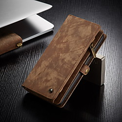 CaseMe Multifunctional Luxury Business Leather Magnetic Flip Case For Samsung Galaxy A71 A51 S20 Plus S20 Ultra A70 A50 A40 Note 20 Ultra 10 With Wallet Card Slot Stand 2-in-1 Detachable Case Cover miniinthebox