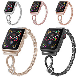 Smart Watch Band for Apple iWatch 1 pcs Classic Buckle Stainless Steel Replacement  Wrist Strap for Apple Watch Series 5 Apple Watch Series SE / 6/5/4/3/2/1 38mm 40mm 42mm 44mm miniinthebox