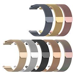 1 PCS Watch Band for Huawei Milanese Loop Stainless Steel Wrist Strap for Huawei Watch GT Huawei Watch 2 Huawei Watch GT 2e Huawei Watch GT 2 46MM Huawei Watch GT 2 42MM miniinthebox