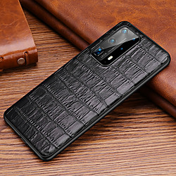 Case For Huawei HUAWEI P40  HUAWEI P40 PRO  HUAWEI P40 Pro plus Shockproof   Back Cover Solid Colored Genuine Leather  TPU miniinthebox