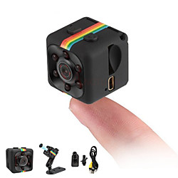 'Hd 1080p Mini Camera Sq11 Full 2.0 Mp Camcorder Night Vision Sports Dv Video Recorder Small Camera Infrared Night Vision Security Camera Support 32g Tf Card For Home Car Office Indoor And Outdoor  Miniinthebox