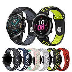 1 PCS Watch Band for Huawei Sport Band Silicone Wrist Strap for Huawei Watch GT Huawei Watch 2 Huawei Watch 2 Pro huawei honor Magic Huawei Watch GT Active miniinthebox