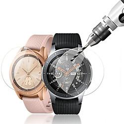 3 Pcs For Samsung Galaxy Watch 46mm / 42mm Tempered Glass Smartwatch Screen Protector 9H Hardness miniinthebox
