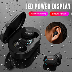 'E7s Tws Bluetooth 5.0 Earphone Wireless Headphone Stereo Sport Earbuds Handsfree Headset With Mic Charging Case Headset