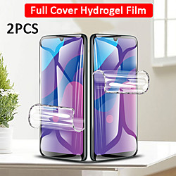 2PCS 100D Curved Hydrogel Film Glass For Samsung Galaxy S21 Ultra S21 Plus  S21 5G Screen Protector For Samsung Galaxy S20Plus S20 Ultra S10 Lite S10 9 8 Plus miniinthebox