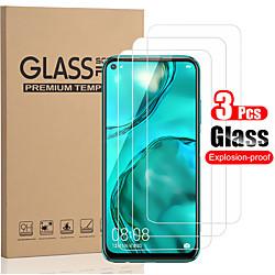 3 PCS Protector Screen for Huawei P40 Lite/P40/P30/P30 Lite/P20/P20 Lite/P20 Pro/P10/P10 Plus High Definition (HD) / 9H Hardness Tempered Glass miniinthebox