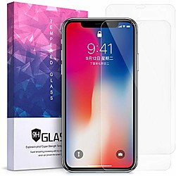 Phone Screen Protector Apple iPhone 12 iPhone 11 iPhone 12 Pro Max iPhone XR iPhone 11 Pro Tempered Glass 2 pcs High Definition (HD) Ultra Thin Scratch Proof Front Screen Protector Phone Accessory miniinthebox