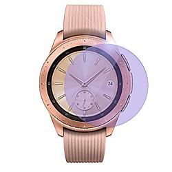 5 Pcs Smartwatch Screen Protector for samsung galaxy watch 42mm, [9h hardness] [anti-fingerprint] [bubble free] anti blue light tempered glass  film for galaxy watch 42mm miniinthebox