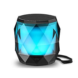 Image of altoparlante bluetooth portatile led altoparlante wireless luce notturna lfs mini altoparlante magnetico 7 colori led con cambio automatico accoppiamento stereo wireless (tws) / vivavoce supportato