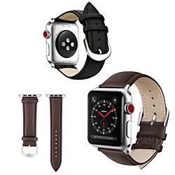 Smart Watch Band for Apple iWatch 1 pcs Leather Loop Genuine Leather Replacement  Wrist Strap for Apple Watch Series 6 / SE / 5/4 44mm Apple Watch Series 6 / SE / 5/4 40mm Apple Watch Series 3/2/1 miniinthebox