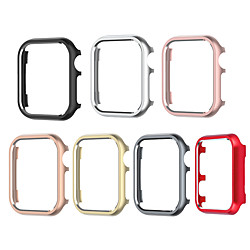 Cases For Apple iWatch Apple Watch Series SE / 6/5/4/3/2/1 44mm 42mm 40mm 38mm Alloy Screen Protector Smart Watch Case Compatibility miniinthebox