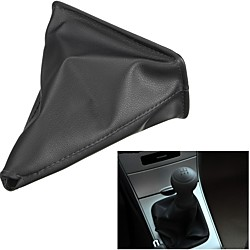 Mini In The Box Zwart pu lederen versnellingspook gaiter boot cover voor toyota corolla 1998 1999 2000 2001 2002 2003-2009 versnellingspook kragen miniinthebox