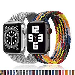 1 pcs Watch Band for Apple iWatch Printed Bracelet Nylon Replacement  Wrist Strap for Apple Watch Series 6 / SE / 5/4 44mm Apple Watch Series 6 / SE / 5/4 40mm Apple Watch Series 3/2/1 38mm Apple miniinthebox