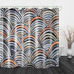 Mini In The Box mooie tegel muur print waterdichte stof douchegordijn voor badkamer home decor bedekt bad gordijnen voering omvat met haken miniinthebox