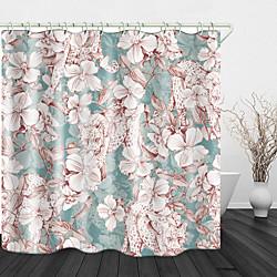 Mini In The Box wilde luipaard print waterdichte stof douchegordijn voor badkamer interieur bedekt bad gordijnen voering omvat met haken miniinthebox