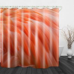 Mini In The Box mooie veren print waterdichte stof douchegordijn voor badkamer interieur bedekt bad gordijnen voering omvat met haken miniinthebox