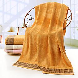 Superior Quality Bath Towel, Solid Color Cotton 1 pcs miniinthebox