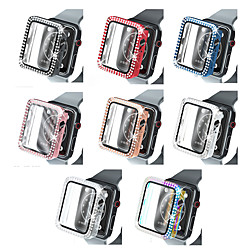 Cases For Apple iWatch Apple Watch Series SE / 6/5/4/3/2/1 44mm 42mm 40mm 38mm Plastic Screen Protector Smart Watch Case Compatibility 38mm 40mm miniinthebox