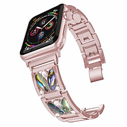 Smart Watch Band for Apple iWatch 1 pcs Jewelry Design Stainless Steel Replacement  Wrist Strap for Apple Watch Series SE / 6/5/4/3/2/1 miniinthebox