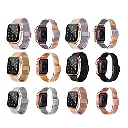 Smart Watch Band for Apple iWatch 1 pcs Business Band Stainless Steel Replacement  Wrist Strap for Apple Watch Series SE / 6/5/4/3/2/1 miniinthebox