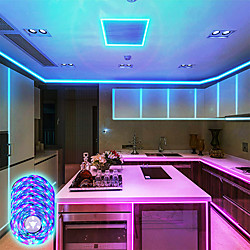Gaver led strip lys musik synkronisering 20m rgb 1200leds led strip 2835 smd farveændring led strip lys bluetooth controller og 40 nøgle fjernbetjening led lys til soveværelse hjem fest miniinthebox