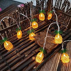 LED Pineapple Fairy String Lights 1.5M 3M Fruit Pineapple Shape String Light Battery or USB Operation Christmas Birthday Party Kids Room Home Holiday Decoration miniinthebox