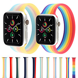 Smart Watch Band for Apple iWatch 1 pcs Printed Bracelet Silicone Replacement  Wrist Strap for Apple Watch Series SE / 6/5/4/3/2/1 miniinthebox