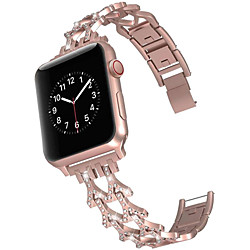 Smart Watch Band for Apple iWatch 1 pcs Jewelry Design Zinc alloy Replacement  Wrist Strap for Apple Watch Series SE / 6/5/4/3/2/1 miniinthebox