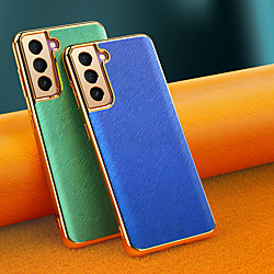 Phone Case For Samsung Galaxy Back Cover S21 Shockproof Dustproof Solid Colored TPU miniinthebox