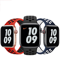Smart Watch Band for Apple iWatch 1 pcs Sport Band Silicone Replacement  Wrist Strap for Apple Watch Series SE / 6/5/4/3/2/1 miniinthebox