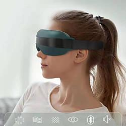 Soins du corps et cosmétiques masseur oculaire électrique avec chaleur thérapie rechargeable par musique bluetooth masseur visuel pour soulager la fatigue oculaire cernes sacs pour les yeux sécheresse oculaire améliore le sommeil miniinthebox