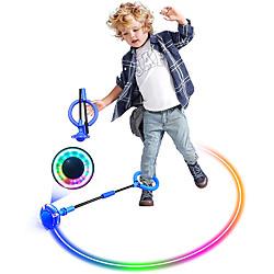 Jouets & Jeux sauter la balle pour les enfants clignotant pliable sport balançoire balle coloré flash cheville corde à sauter jouet pour garçons et fille fitness perdre du poids miniinthebox
