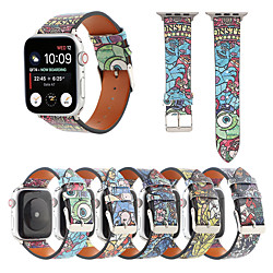 Smart Watch Band for Apple iWatch 1 pcs Cartoon Band PU Leather Replacement  Wrist Strap for Apple Watch Series SE / 6/5/4/3/2/1 miniinthebox