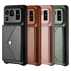 Phone Case For Xiaomi Back Cover Mi 11 Redmi Note 9 Pro Max Mi 10 Lite 5G Redmi Note 9S Redmi 10X Pro 5G Mi Note 10 Lite Mi 11 Pro Mi 11 Lite Mi 11 Ultra Redmi Note 10 Card Holder Shockproof Dustproof miniinthebox
