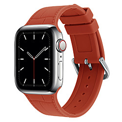 Smart Watch Band for Apple iWatch Classic Buckle Silicone Replacement  Wrist Strap for Apple Watch Series SE / 6/5/4/3/2/1 miniinthebox