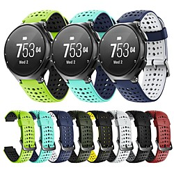 Smart Watch Band for Garmin Classic Buckle Silicone Replacement  Wrist Strap for Forerunner 220 miniinthebox