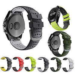 Smart Watch Band for Garmin Classic Buckle Silicone Replacement  Wrist Strap for Garmin Fenix 6 miniinthebox