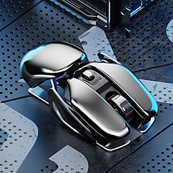 2.4G Wireless Mouse Rechargeable Charging Ergonomic Silent Mouse Mute Office Notebook Mice Opto-electronic For Home Office use miniinthebox