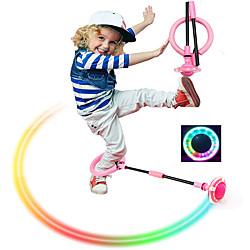 Jouets & Jeux sauter balle pour enfants pliable cheville sport balançoire balle coloré clignotant corde à sauter jeu de combustion des graisses pour enfants garçons et filles miniinthebox