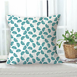 Home & Garden Gingko Double Side Cushion Cover 1PC Soft Decorative Square Throw Pillow Cover Cushion Case Pillowcase for Bedroom Livingroom Superior Quality Machine Washable Outdoor Cushion for Sofa Couch Bed Chair miniinthebox