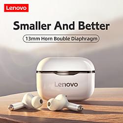 Lenovo LP1 Écouteurs sans fil TWS Casques oreillette bluetooth Bluetooth5.0 Avec Micro Avec boîte de recharge IPX4 étanche pour Apple Samsung Huawei Xiaomi MI Fonctionnement Escalade de travail miniinthebox