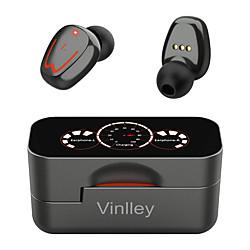 écouteurs sans fil bluetooth 5.0 écouteurs ipx7 écouteurs de sport bluetooth casques design rotatifs avec étui de charge affichage de la batterie led double basse microphones intégrés écouteurs sans miniinthebox