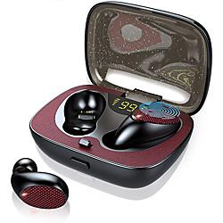 es02 tws bluetooth écouteurs stéréo sport casque pour samsung s10 hifi son avec micro écouteurs mains libres pour iphone 11 pro miniinthebox