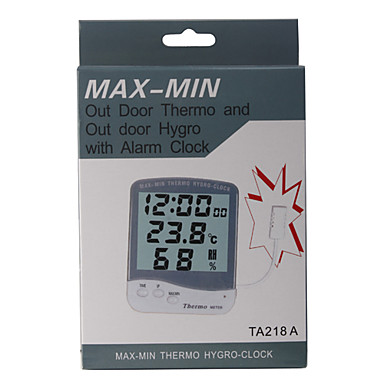 Digital lcd thermom tre hygrom tre ext rieur de for Temperature exterieur