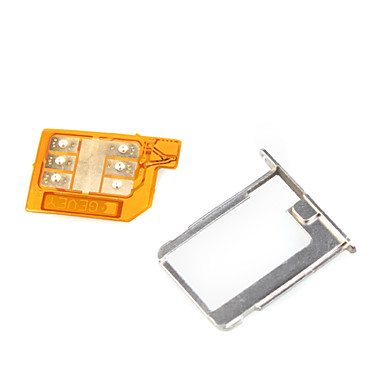 Gevey sim card turbo per iPhone 4/4S di sblocco del 185290