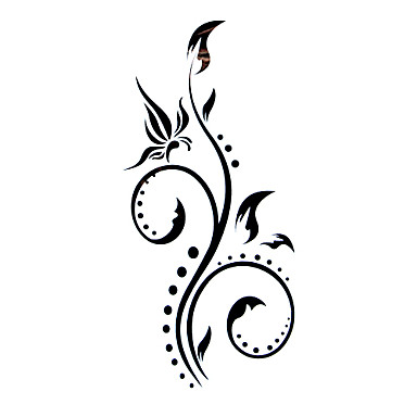 tetova e naljepnice flower serija uzorak waterproof ene girl boy flash tattoo privremene. Black Bedroom Furniture Sets. Home Design Ideas